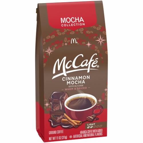 McCafe Cinnamon Mocha Light Roast Ground Coffee Perspective: left
