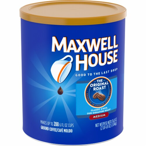 Maxwell House The Original Roast Medium Ground Coffee Perspective: left