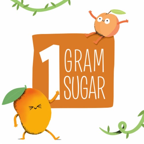 Creative Roots Peach Mango Flavored Coconut Water Kids Beverage Perspective: left