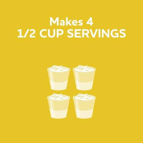 Jell-O Lemon Gelatin Dessert Mix Perspective: left