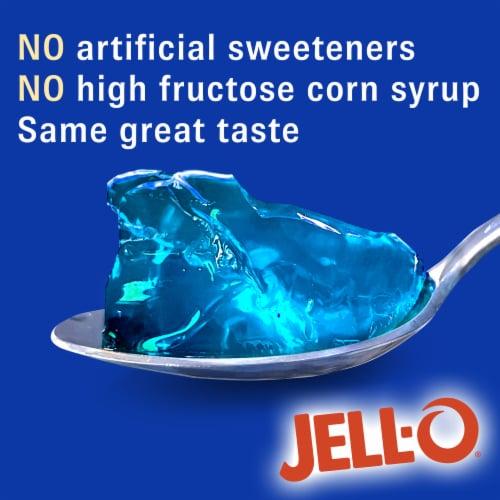 Jell-O Berry Blue Gelatin Dessert Mix Perspective: left
