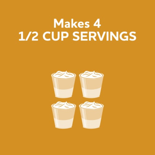 Jell-O Banana Cream Instant Pudding & Pie Filling Perspective: left
