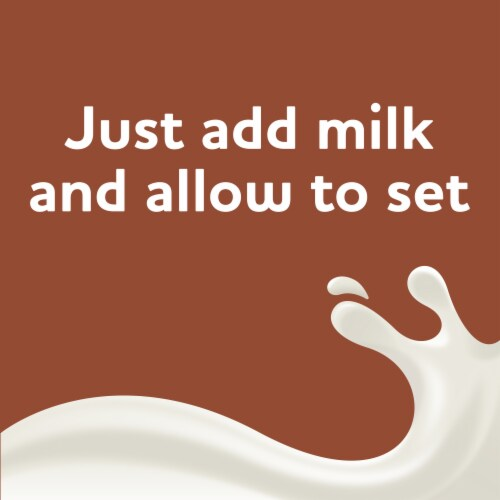 Jell-O Chocolate Fudge Instant Pudding & Pie Filling Mix Perspective: left