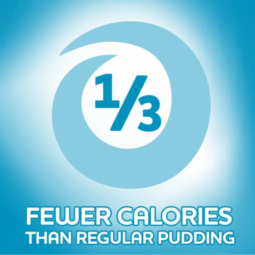 Jell-O Sugar Free Vanilla Instant Pudding and Pie Filling Perspective: left