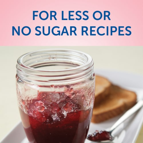 Sure-Jell No Sugar Added Premium Fruit Pectin Perspective: left