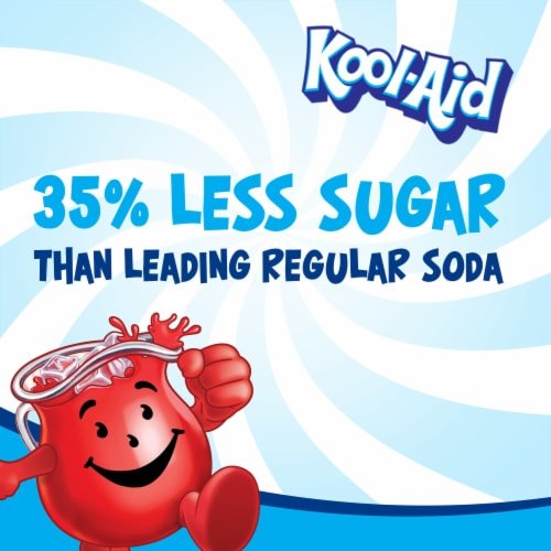 Kool-Aid Tropical Punch Powdered Drink Mix Perspective: left