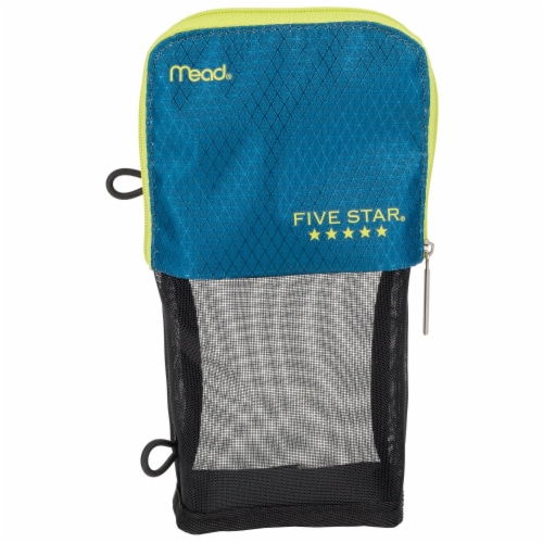 Five Star® Stand 'N Store Pencil Pouch - Assorted Perspective: left
