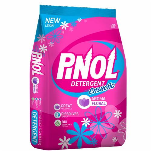Pinol Floral Laundry Detergent Perspective: left