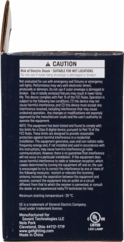 GE Reveal® HD+ Light 4.5-Watt (40-Watt) G25 LED Light Bulbs Perspective: left