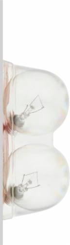 GE 40-Watt Candelabra Base G16.5 Globe Light Bulbs Perspective: left