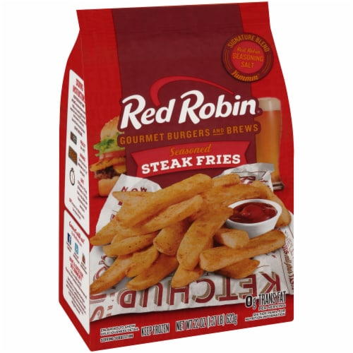 Red Robin Seasoned Steak Fries Perspective: left