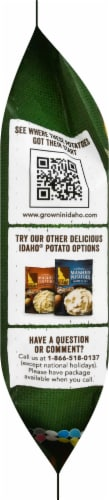 Grown In Idaho Roasted Garlic Frozen Mashed Potatoes Perspective: left