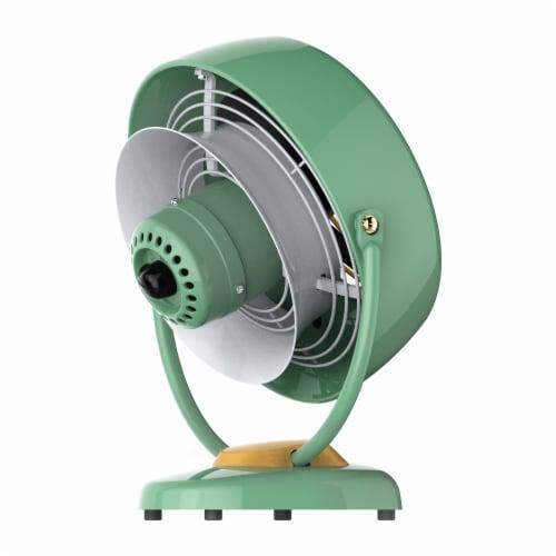 Vornado VFAN Vintage Air Circulator Fan - Green Perspective: left