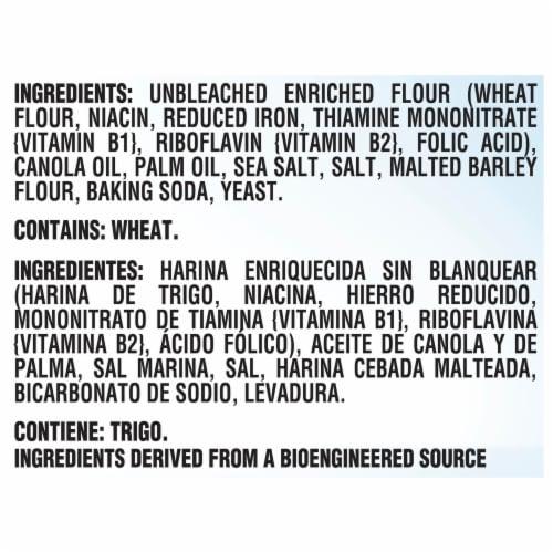 Premium Original Sea Salt Saltine Crackers Perspective: left