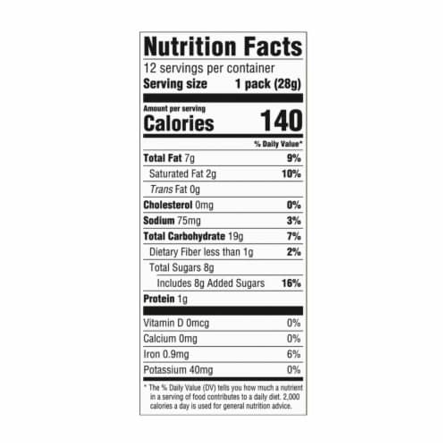 Chips Ahoy! Mini Chocolate Chip Cookies Packs Perspective: left