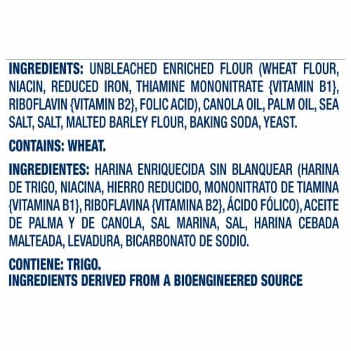 Premium Original Fresh Stacks Saltine Crackers Perspective: left