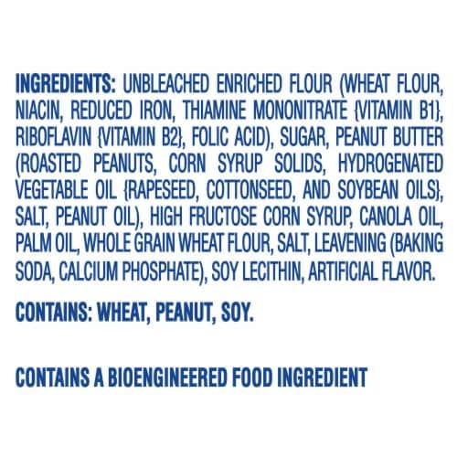 Nutter Butter Bites Peanut Butter Sandwich Cookies Go-Pak Perspective: left