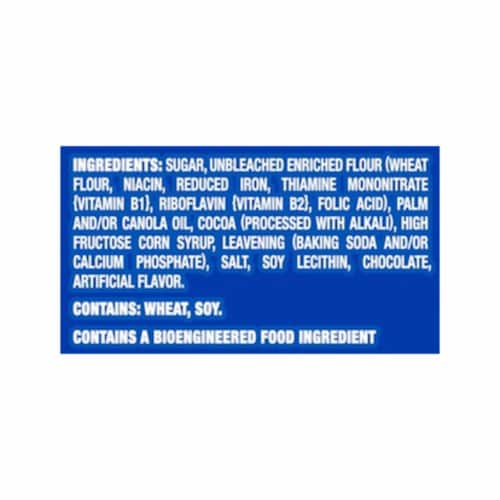 Oreo Family Size Double Stuf Chocolate Sandwich Cookies Perspective: left