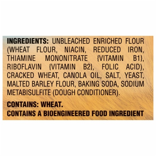 Red Oval Farms Mini Stoned Wheat Thins Crackers Perspective: left