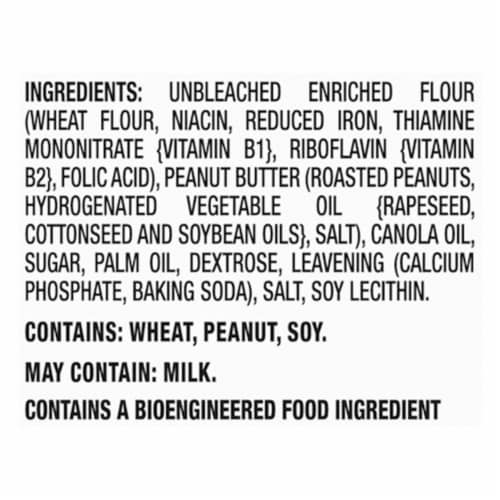 Ritz Bits Peanut Butter Cracker Sandwiches Perspective: left