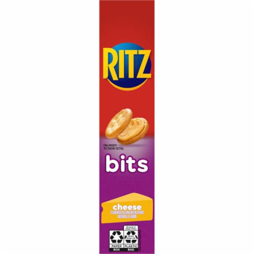 Ritz Bits Cheese Cracker Sandwiches Perspective: left
