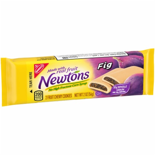 Newtons Fig Fruit Chewy Cookies Perspective: left