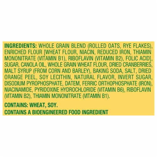 belVita Cranberry Orange Breakfast Biscuits Perspective: left