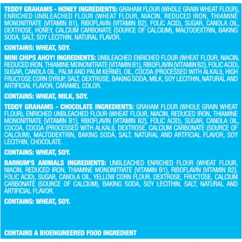 Nabisco Fun Shapes! Mini Cookies & Crackers Variety Pack Perspective: left