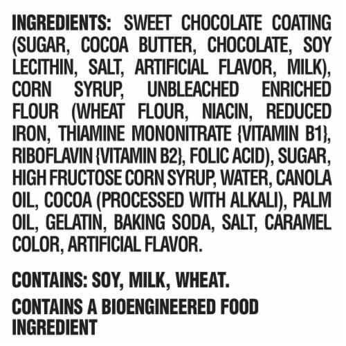 Nabisco Pinwheels Fudge and Marshmallow Chocolate Covered Cookies Perspective: left