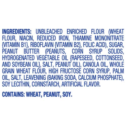 Nutter Butter  Peanut Butter Sandwich Cookies Family Size Perspective: left