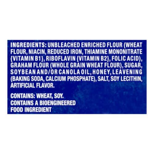 Honey Maid Honey Graham Crackers Family Size Perspective: left