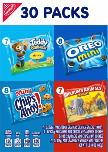 Nabisco Team Favorites Snack Multipack Perspective: left
