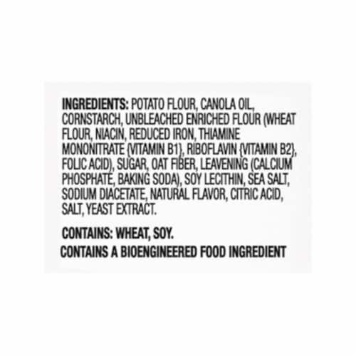 Ritz Crisp & Thins Salt & Vinegar Oven Baked Potato and Wheat Chips Perspective: left
