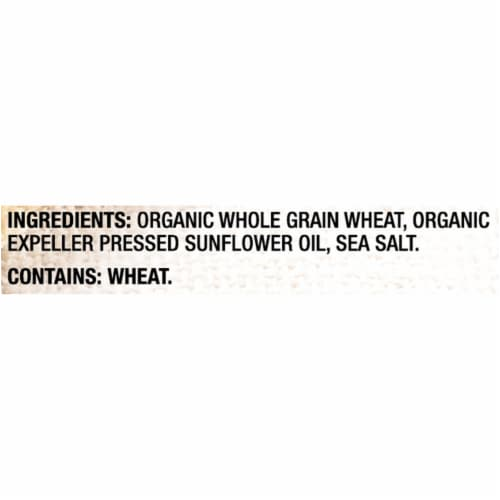 Triscuit Organic Original Crackers Perspective: left