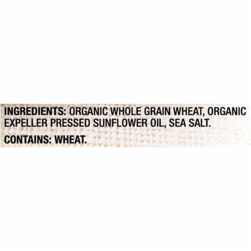 Triscuit Organic Thin Crisps Original Crackers Perspective: left