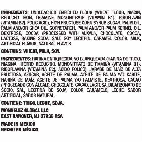 Chips Ahoy! Chewy Cookies Party Size Perspective: left