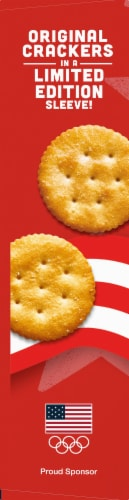 Ritz Limited Edition Summer Olympics Original Crackers Perspective: left