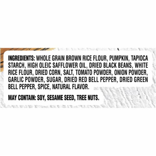 Good Thins Gluten Free Garden Veggie Rice Crackers Perspective: left