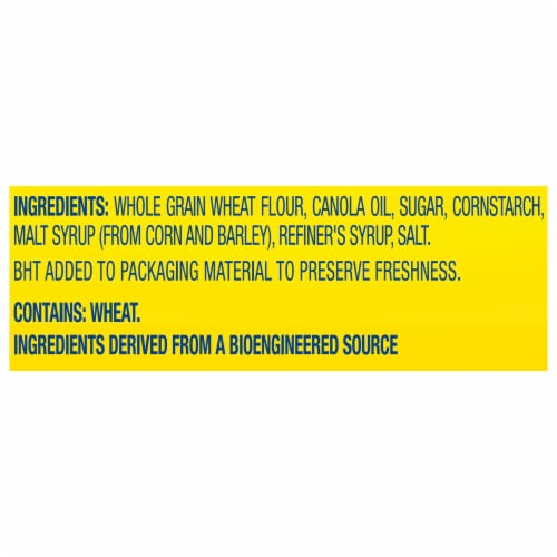 Nabisco Wheat Thins Hint of Salt Crackers Perspective: left