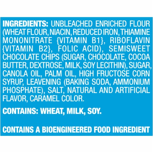 Chips Ahoy Real Chocolate Chip Cookies Perspective: left