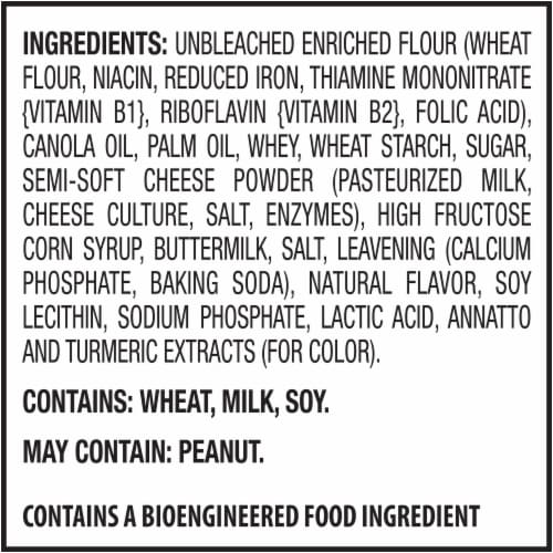 Ritz Cheese Cracker Sandwich Snack Packs Perspective: left