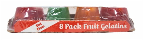 Lakeview Farms Real Dessert Fruit Gelatin 8 Pack Perspective: left