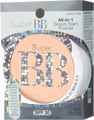 Physicians Formula Light/Medium 7836 Super BB All-in-1 Powder Perspective: left
