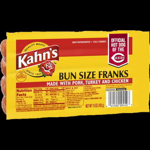 Kahn's Bun Size Franks Perspective: left