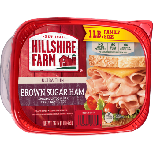 Hillshire Farm® Ultra Thin Sliced Brown Sugar Ham Lunch Meat Perspective: left