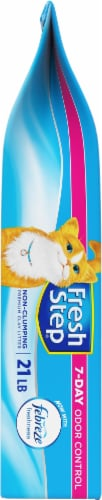 Fresh Step with Febreze Freshness Non-Clumping Clay Cat Litter Perspective: left
