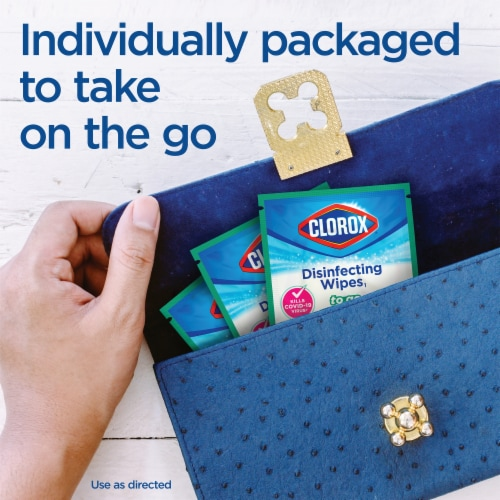 Clorox Disinfecting Wipes Perspective: left