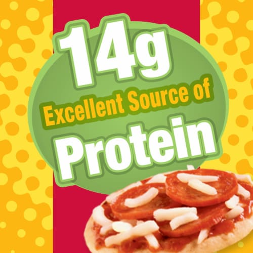 Lunchables Pizza with Pepperoni Perspective: left