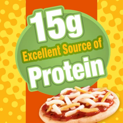 Lunchables Extra Cheesy Pizza Perspective: left