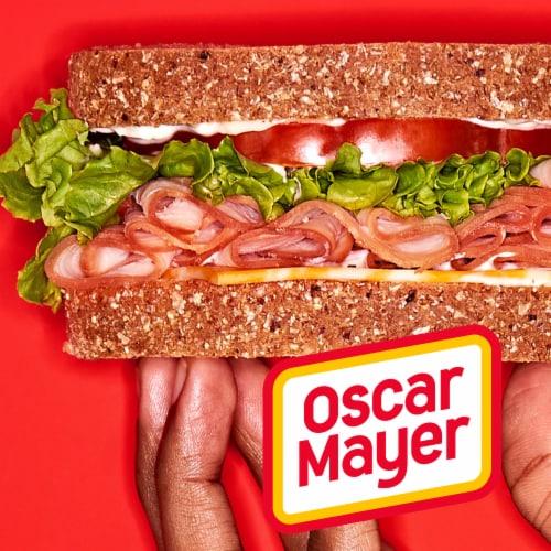 Oscar Mayer Deli Fresh Honey Uncured Ham Lunch Meat Perspective: left